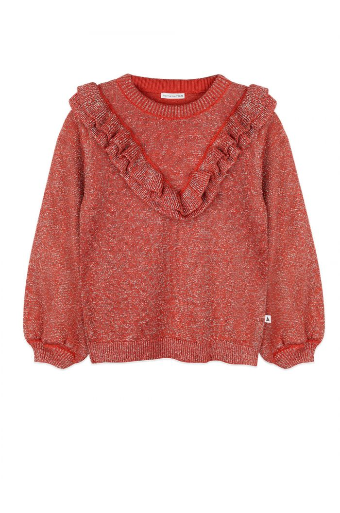 Ammehoela Cher sweater Bombay-Brown_1