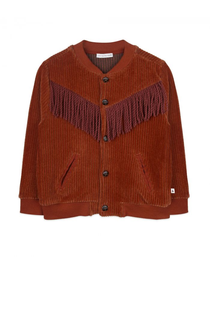 Ammehoela Ollie cardigan Bombay-Brown_1