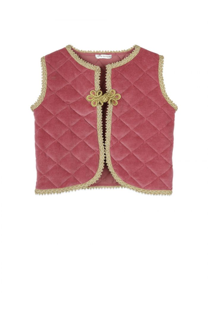 Ammehoela Emmy gilet Old-Pink_1
