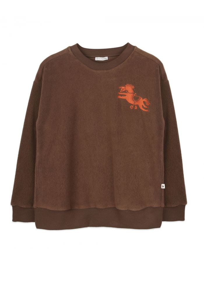 Ammehoela Rocky sweater Dark-Brown_1
