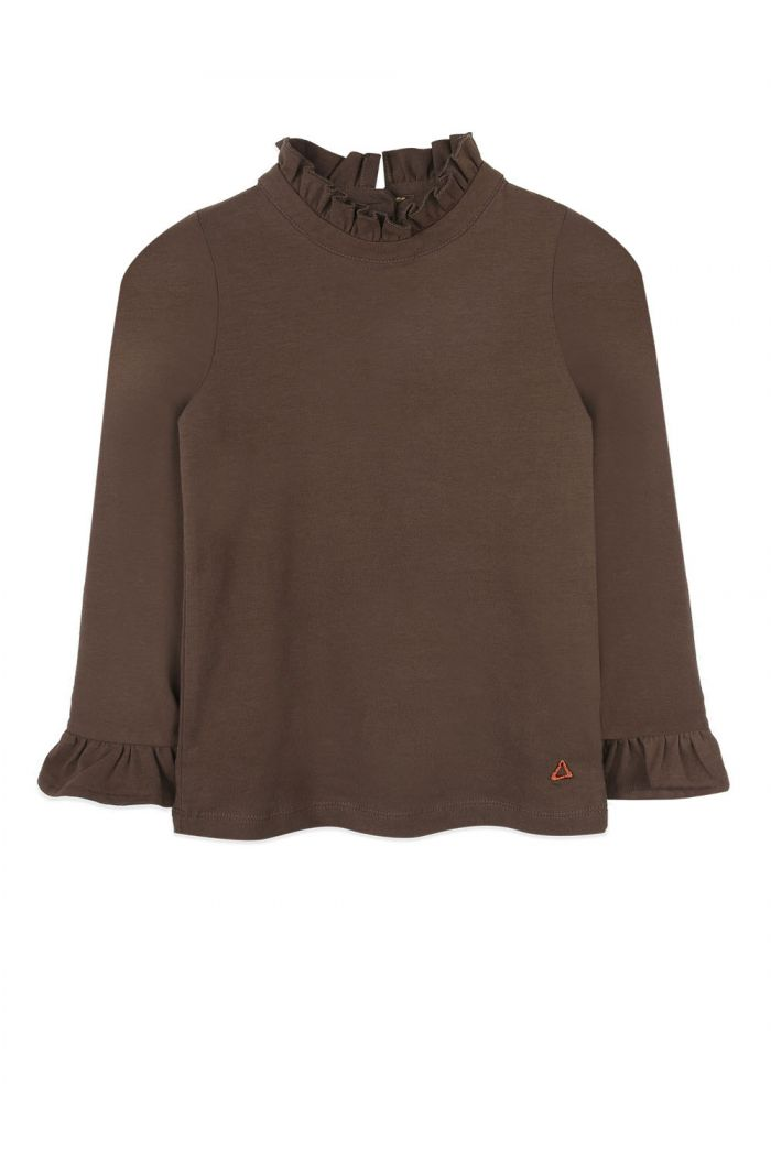 Ammehoela Coco sweater Dark-Brown_1