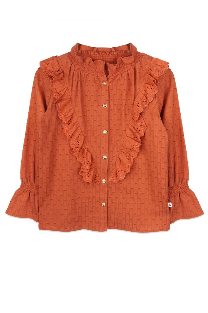 Ammehoela Mia shirt Bombay-Brown_1