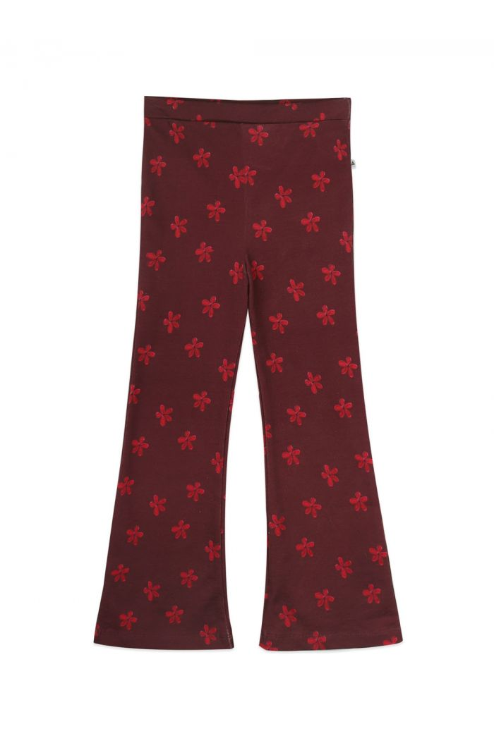 Ammehoela Liv flared pants Mini-flower_1