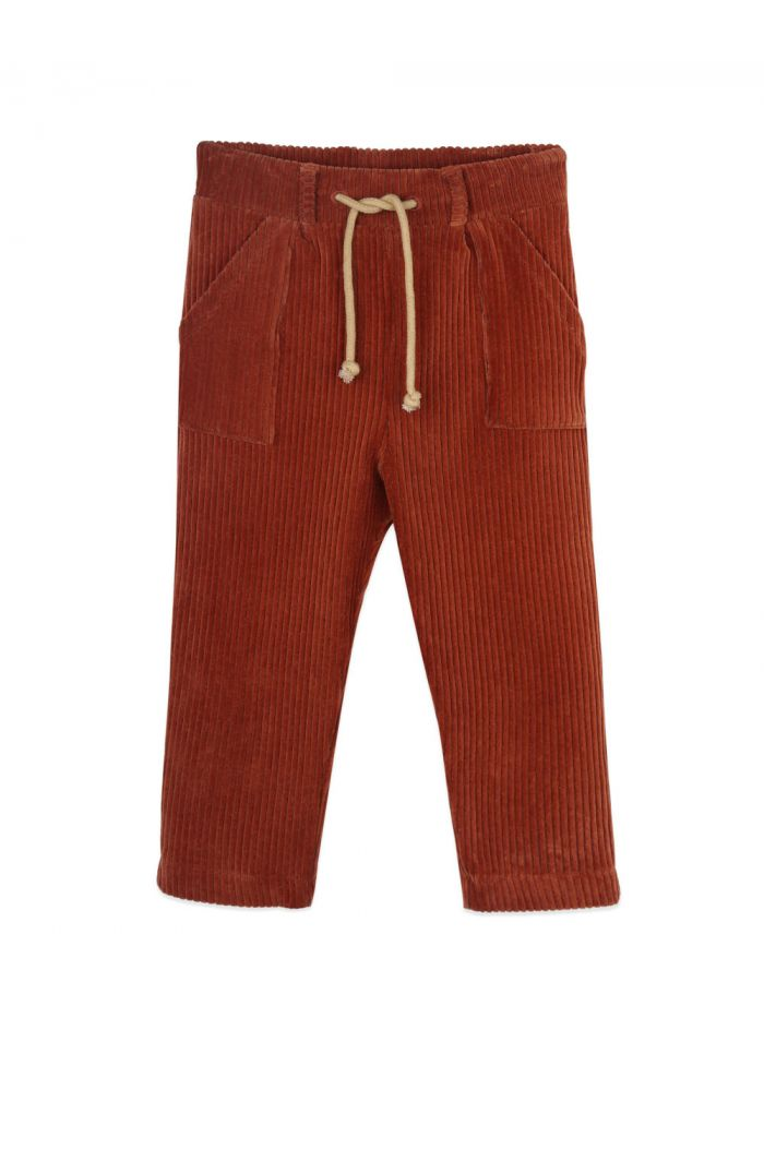 Ammehoela Bennie pants Bombay-Brown_1