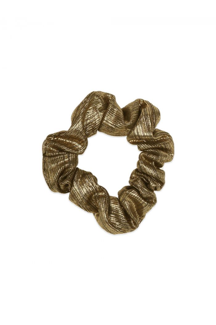 Ammehoela Scrunchie Gold_1