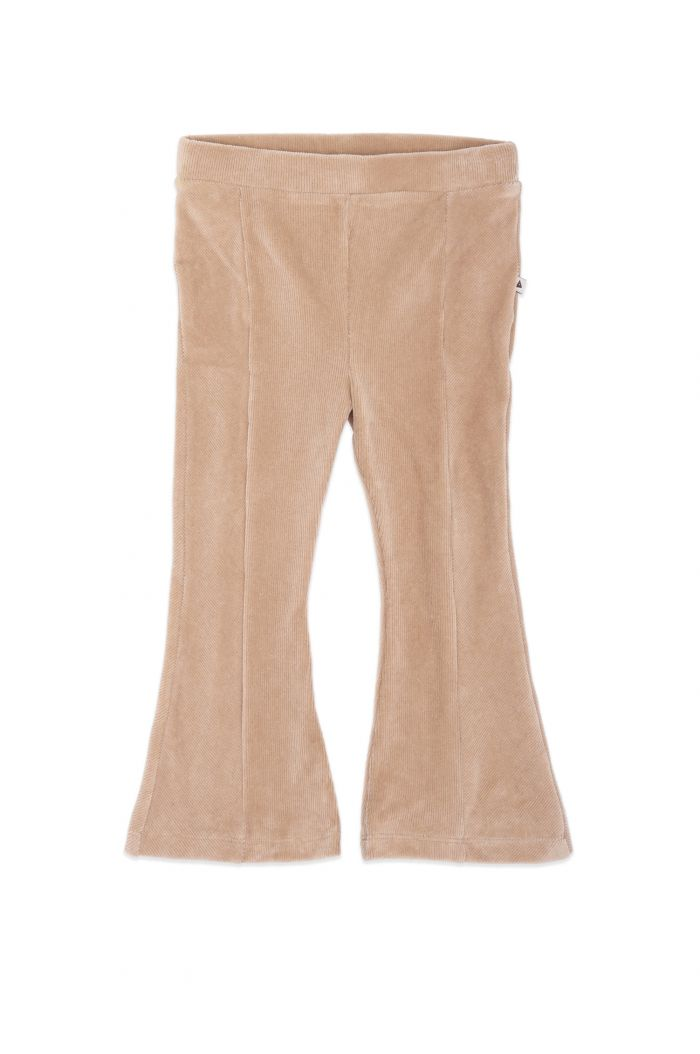 Ammehoela Liv Flared Pants Sand_1