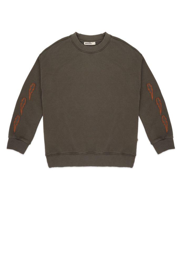 Ammehoela Rocky Sweater Antra-Army_1