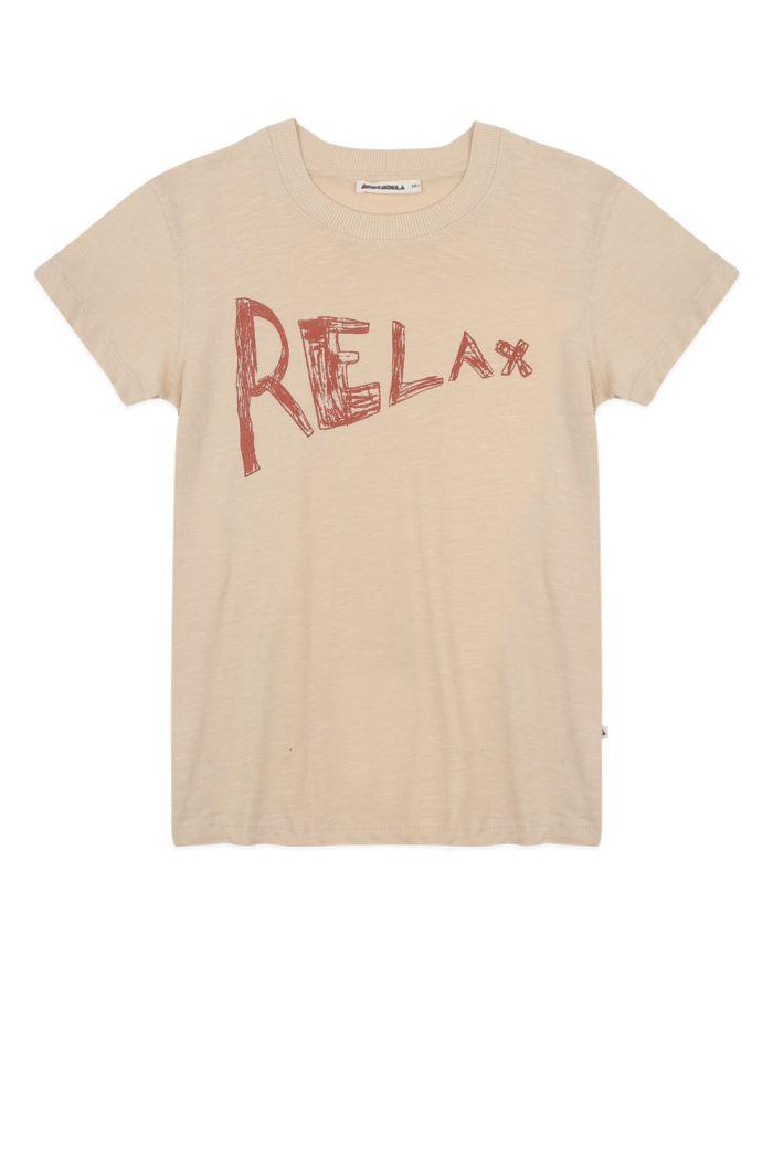 Ammehoela Zoe T-shirt Pebble Relax_1