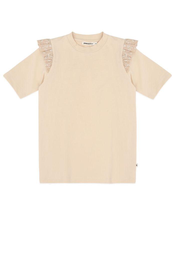 Ammehoela Sofie T-shirt Pebble_1