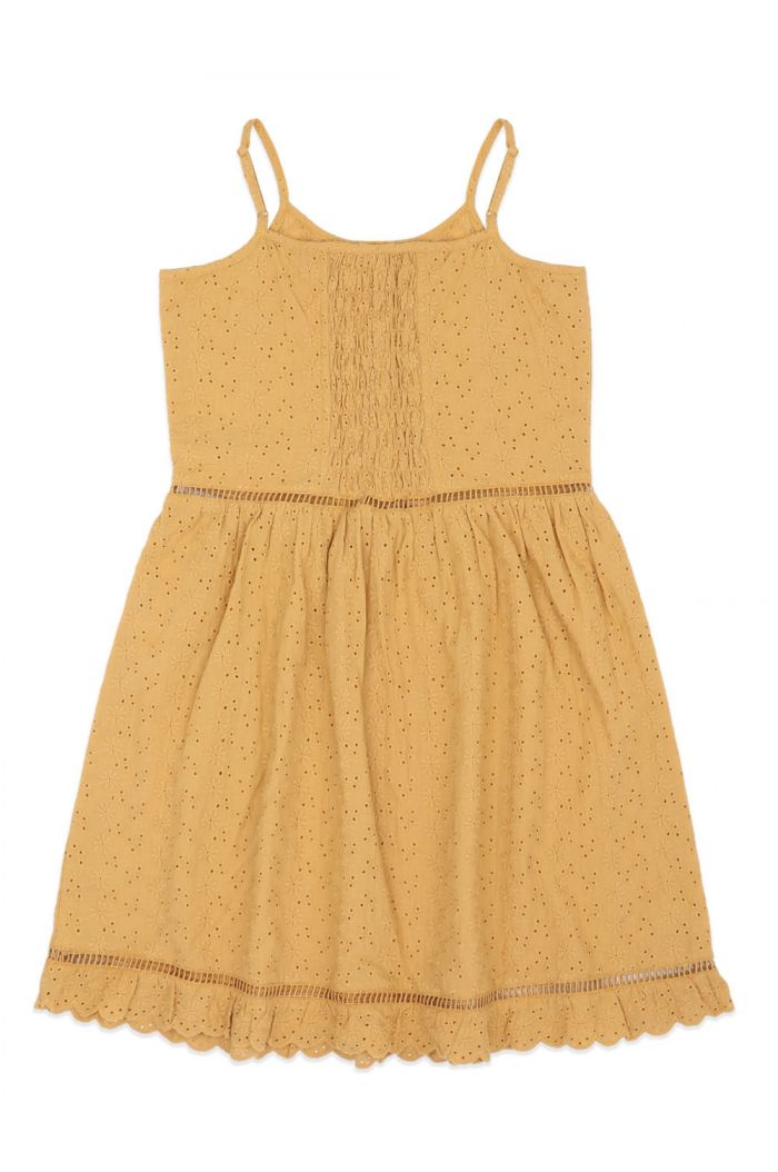 Ammehoela Lenna Dress Mustard-Yellow_1