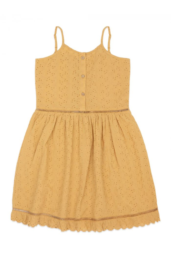 Ammehoela Lenna Dress Mustard-Yellow_2