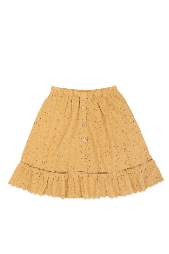 Ammehoela Romy Skirts Mustard-Yellow_1