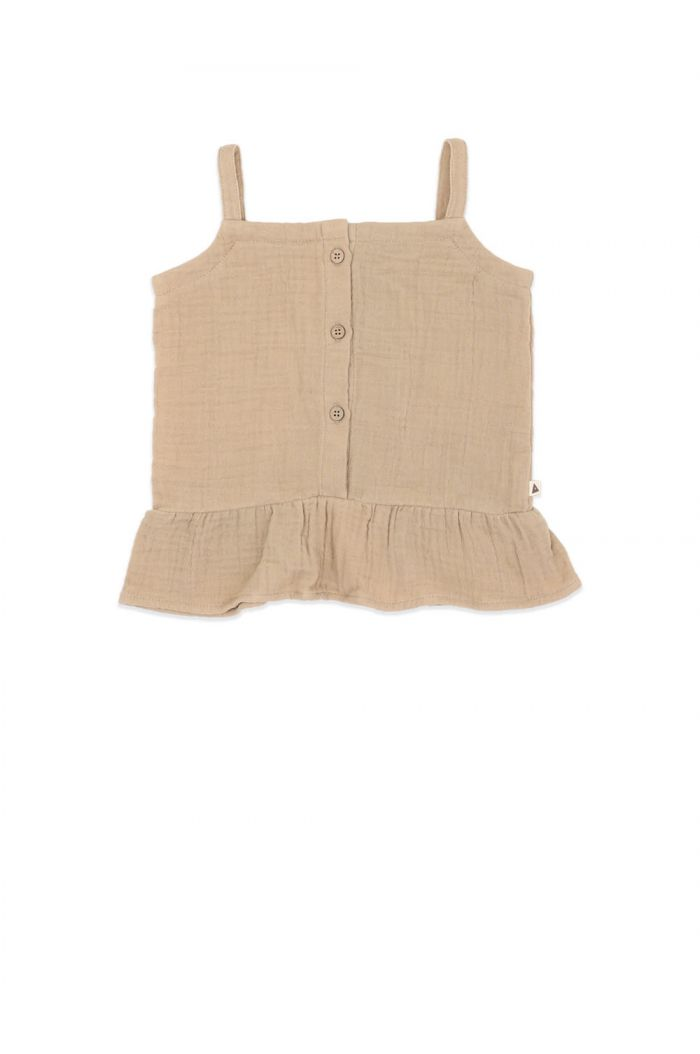 Ammehoela Leia Sleeveless Top Sahara_1