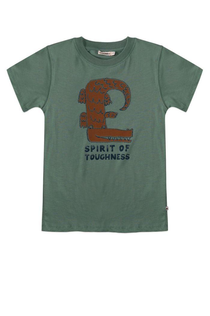 Ammehoela Zoe T-shirt Hedge-Green_1