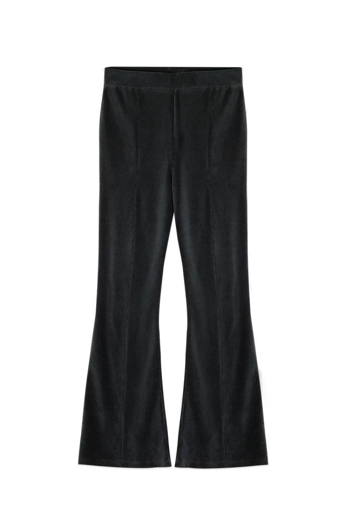 Ammehoela Liv Flared Pants Pirate-Black_1