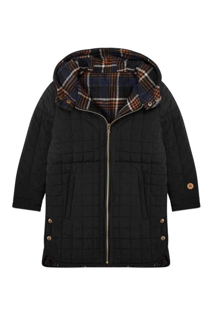 Ammehoela Zeke Jacket Black-Check_1