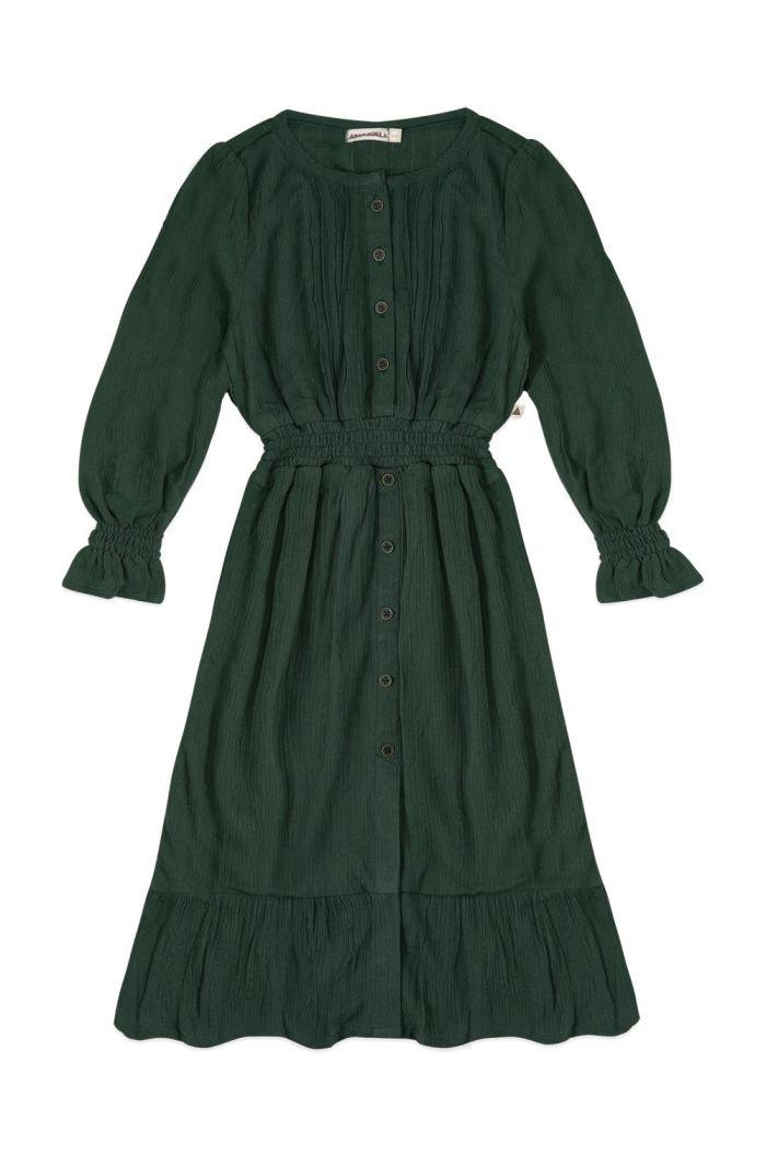 Ammehoela Hazel Dress Thyme _1