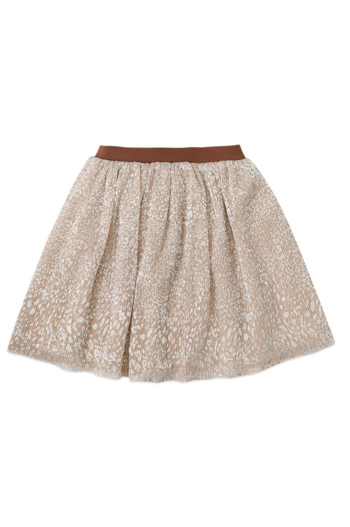 Ammehoela Dolly Skirt Metallic-Leopard_1