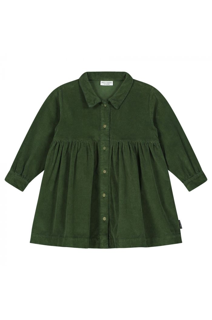 Daily Brat Brooke corduroy dress olive rose_1