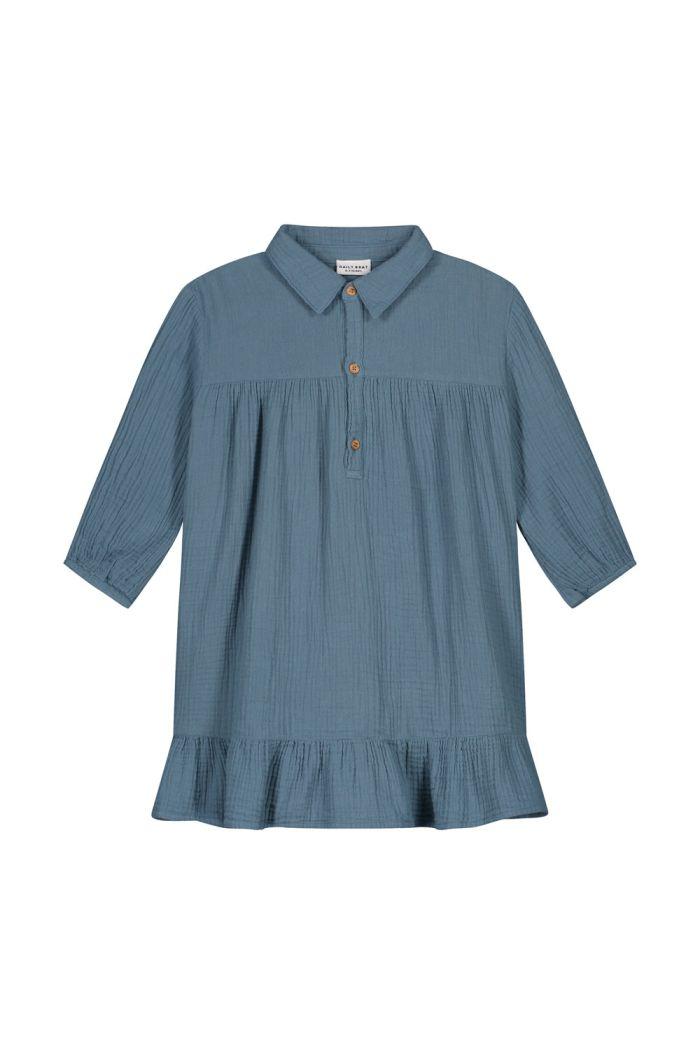 Daily Brat Lilyan dress forest blue_1