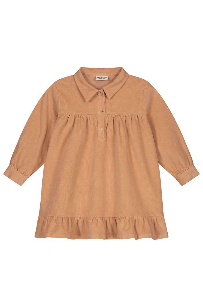 Daily Brat Lilyan corduroy dress copper rose_1