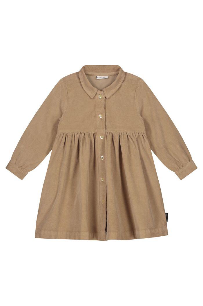 Daily Brat Brooke corduroy dress khaki_1