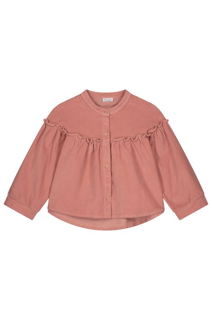 Daily Brat Tara corduroy shirt light mahogany_1