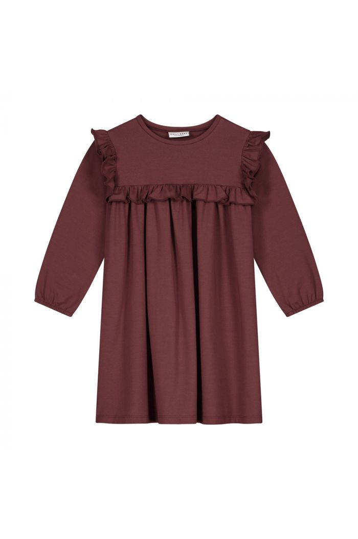 Daily Brat Olivia dress carben red_1