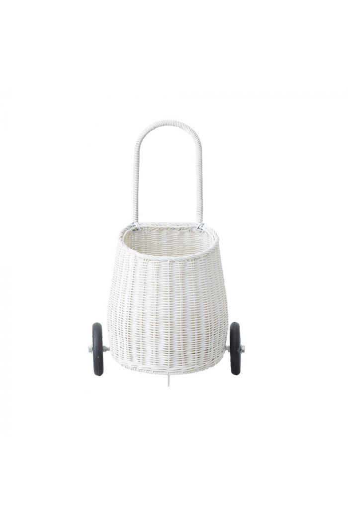 Olli Ella Luggy basket trolley Kids White