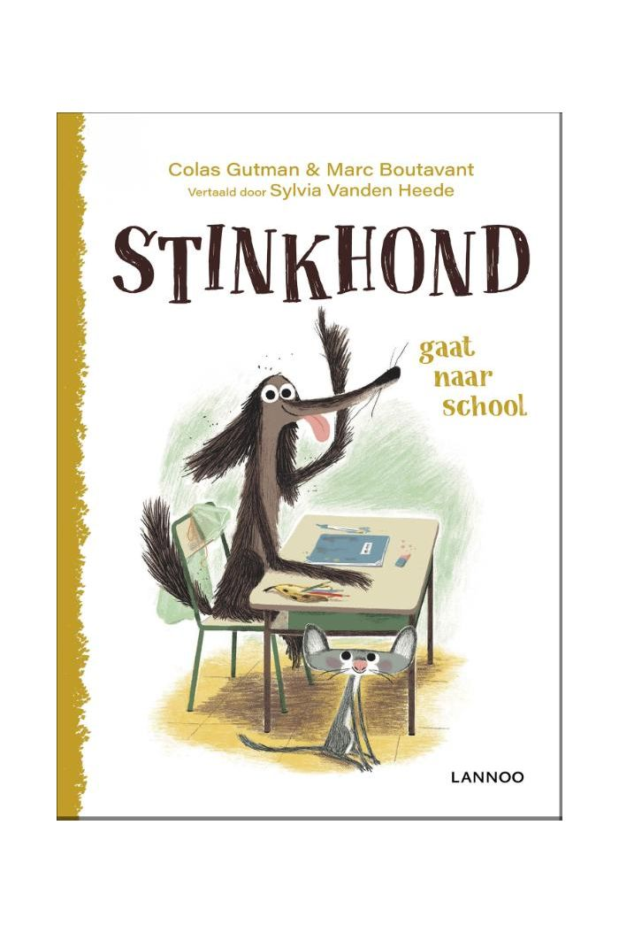 Stinkhond gaat naar school _1