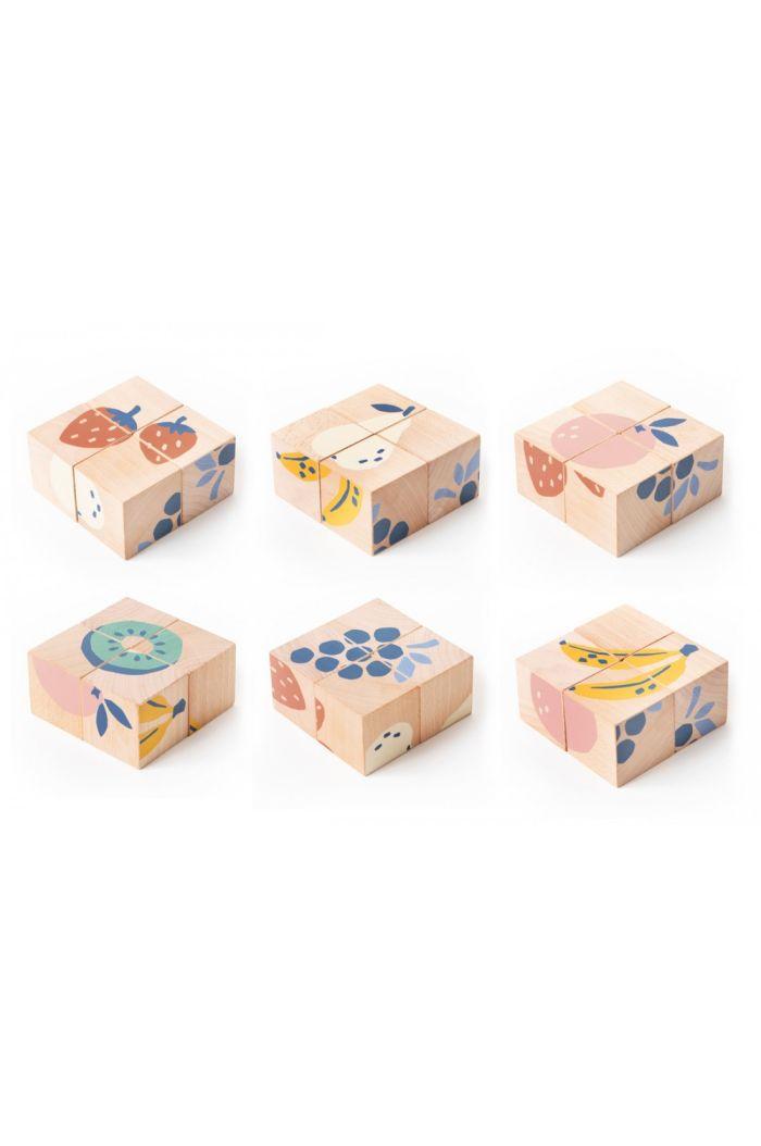 Nobodinoz Fruits Wooden Cubes