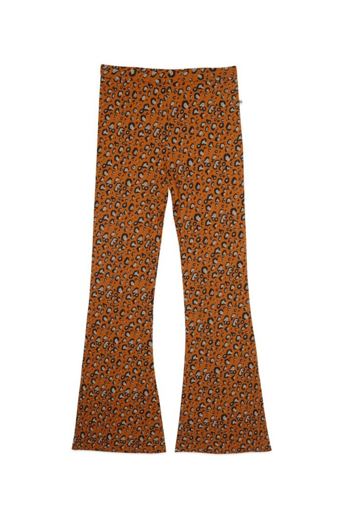 Ammehoela Liv Flared Pants Mom Leopard