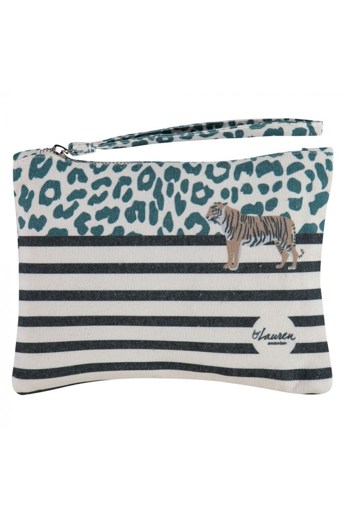 by Lauren Happy Bag Small Wild Thing Green