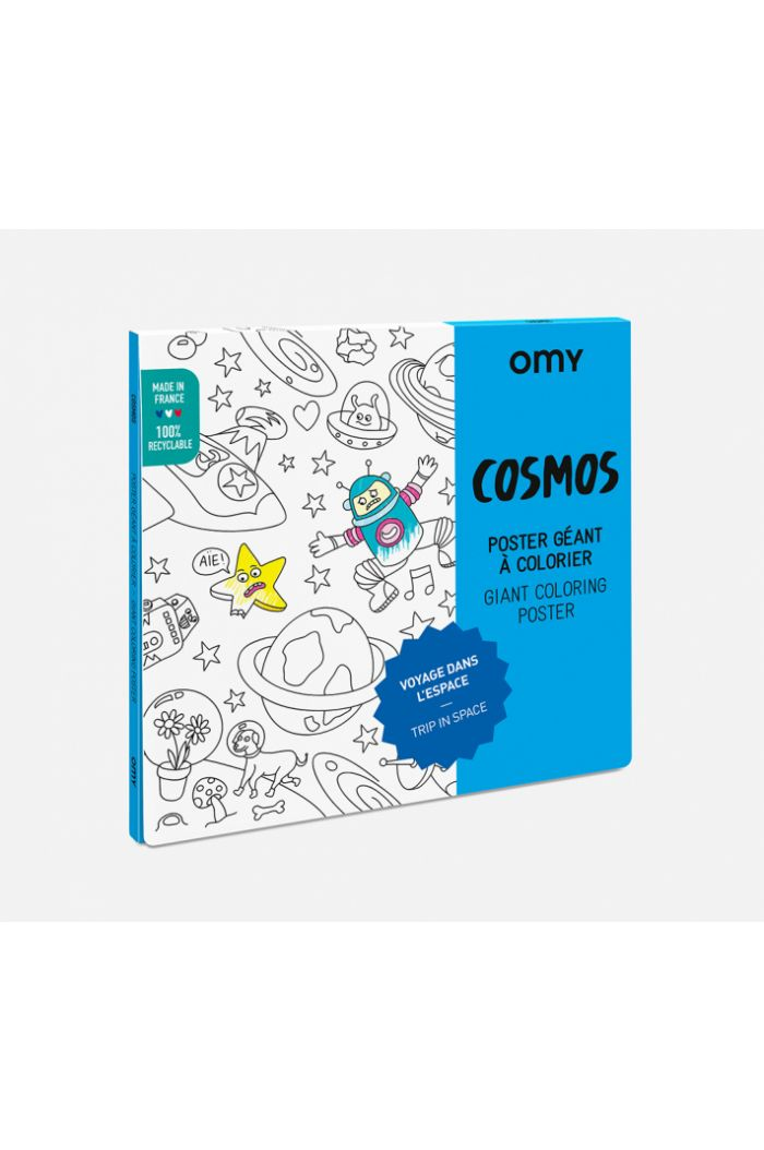 OMY Giant Coloring Poster Cosmos