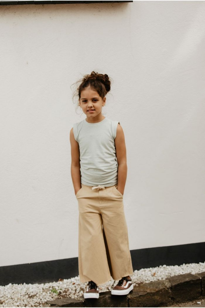 Longlivethequeen Canvas Pants beige canvas