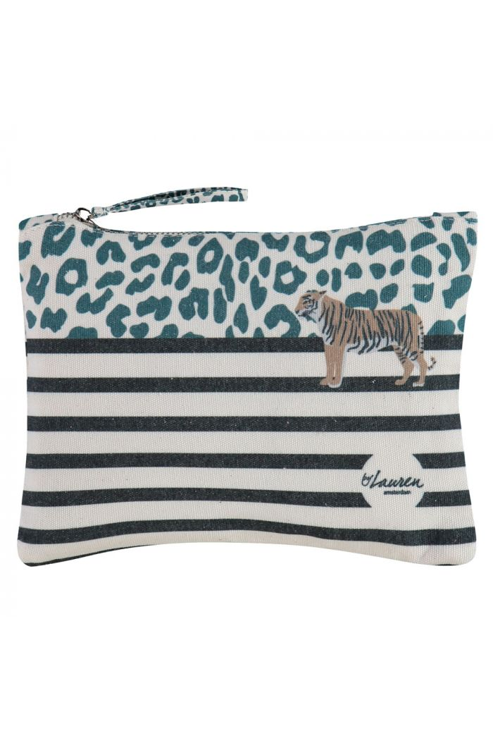 by Lauren Happy Bag Medium Wild Thing Green