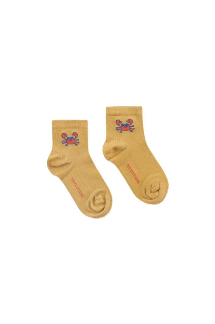Tinycottons Crab Short Socks Sand_1