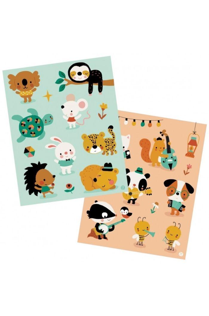 Bora Stickervellen Little Mouse And Friends _1