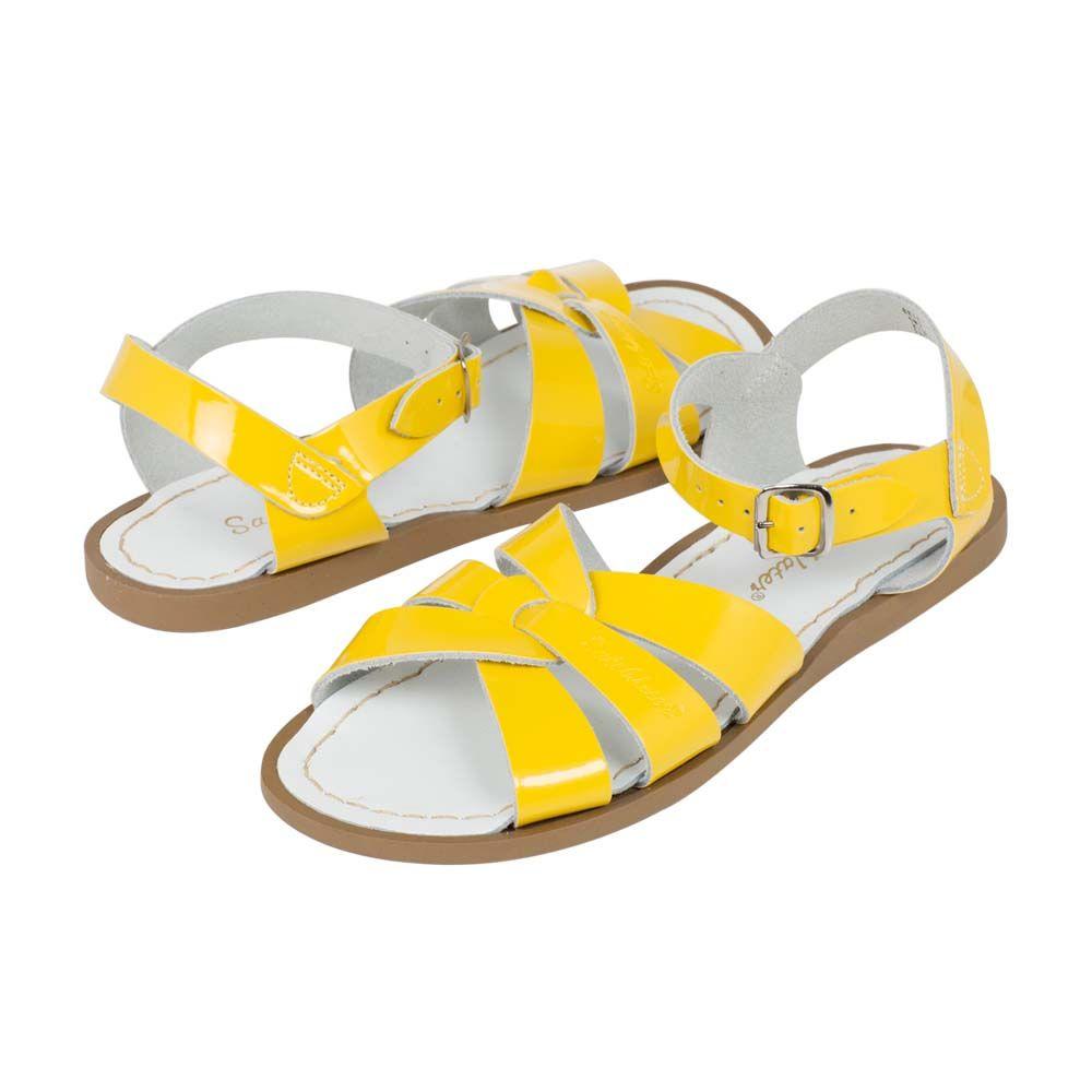 Salt-Water Sandals ORIGINAL Premium Shiny Yellow - in Schoenen