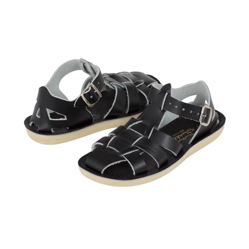 Salt-Water Sandals Shark Black - in Schoenen