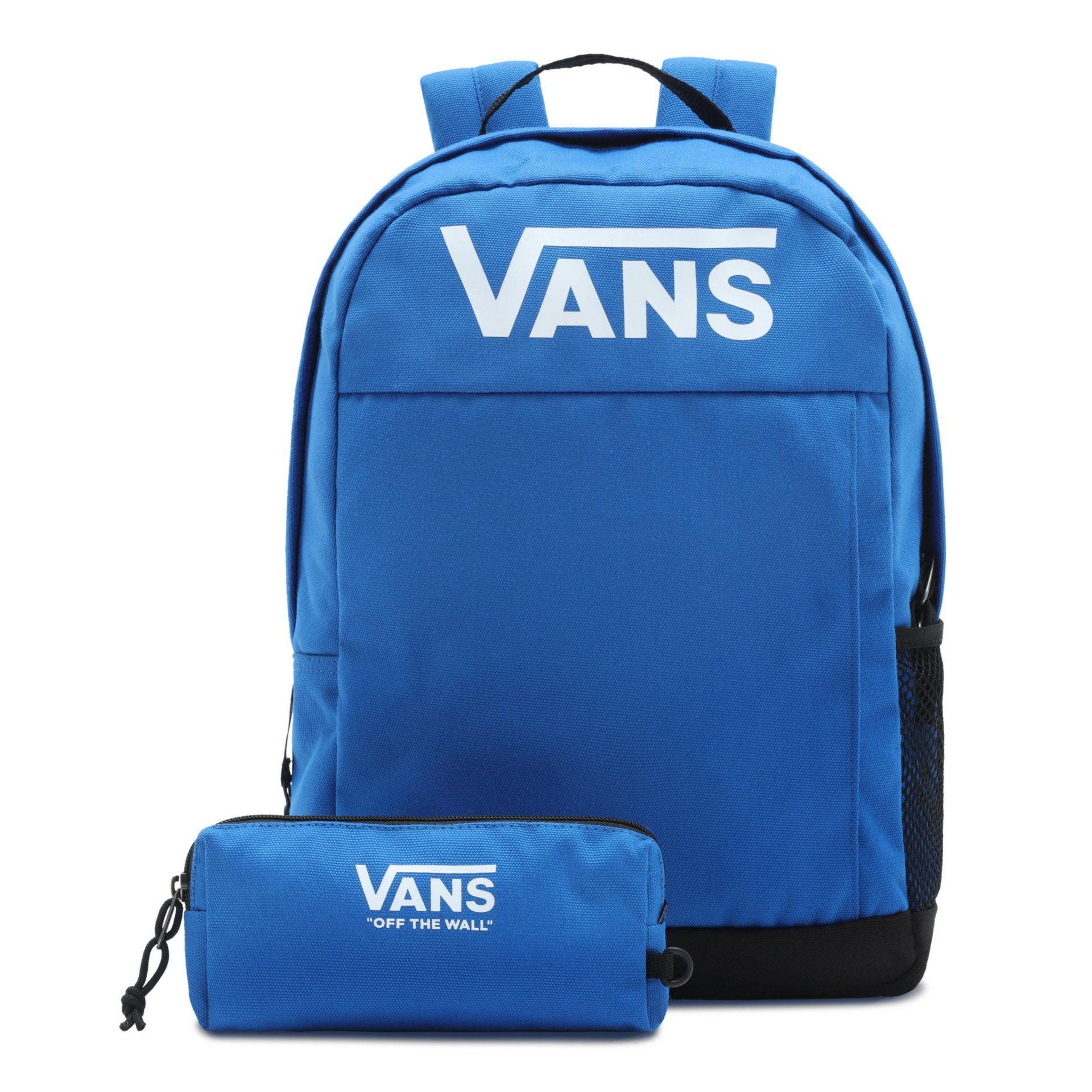 Vans Skool Backpack Boys Blue - in Schooltassen