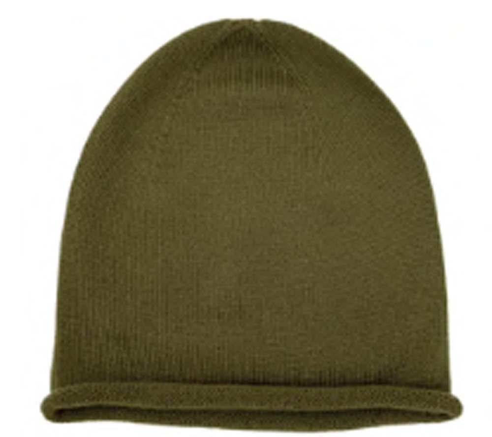 Hvid Beanie Efa Olive - in Accessoires