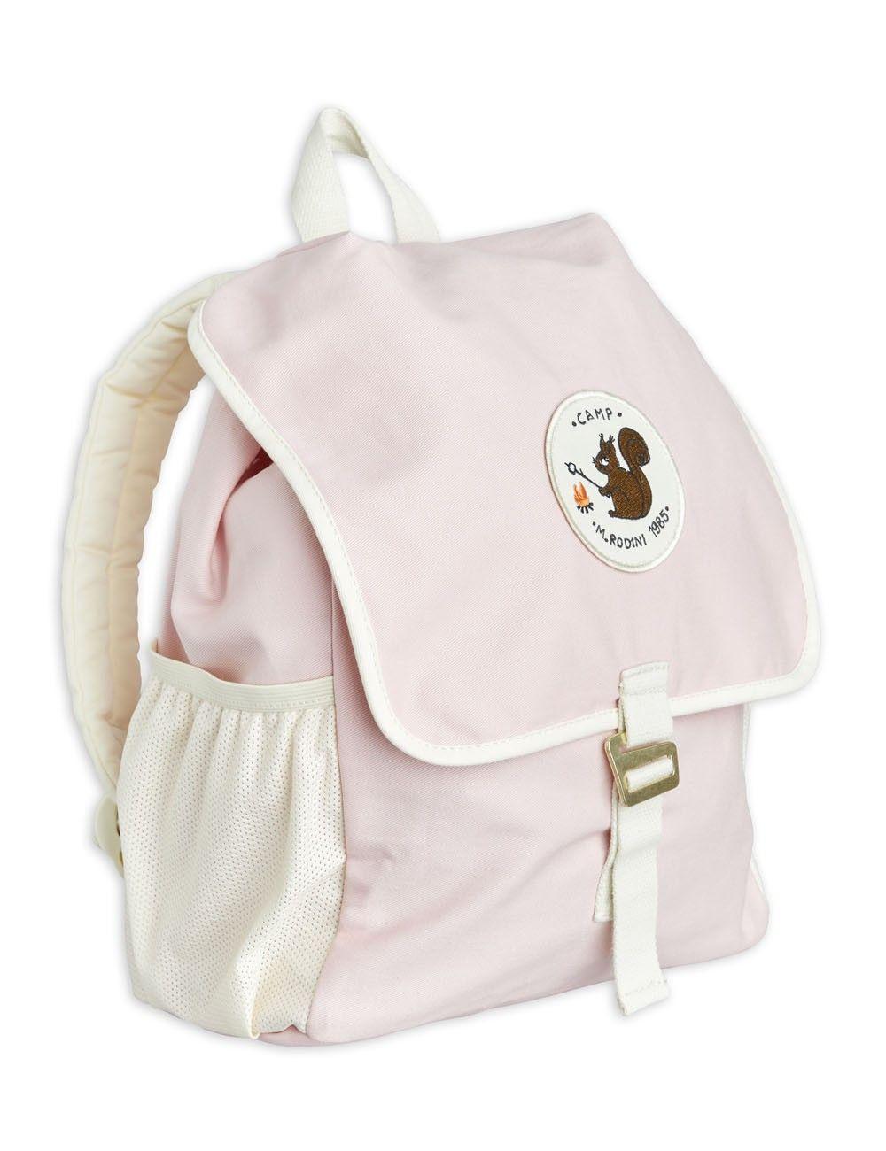 Mini Rodini Hike n school backpack Pink - in Schooltassen