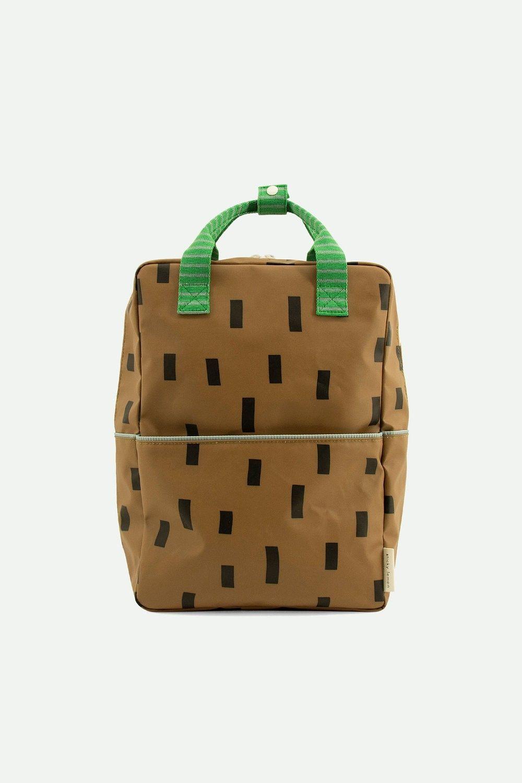 Sticky Lemon Backpack Large Sprinkles Special Brassy Green + Apple Green + Steel Blue - in Schooltassen