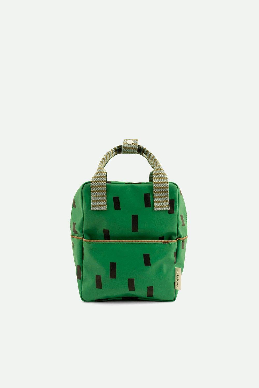 Sticky Lemon Backpack Small Sprinkles Special Apple Green + Steel Blue + Brassy Green - in Schooltassen