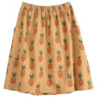 Emile et Ida Skirt Fruit Coton Organique Cannelle_1