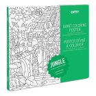 OMY Giant Coloring Poster Jungle_1