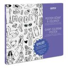 OMY Giant Coloring Poster Stylist_1