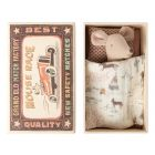 Maileg Little sister mouse in matchbox _1