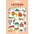 Petit Monkey Tattoos Jungle Animals _1